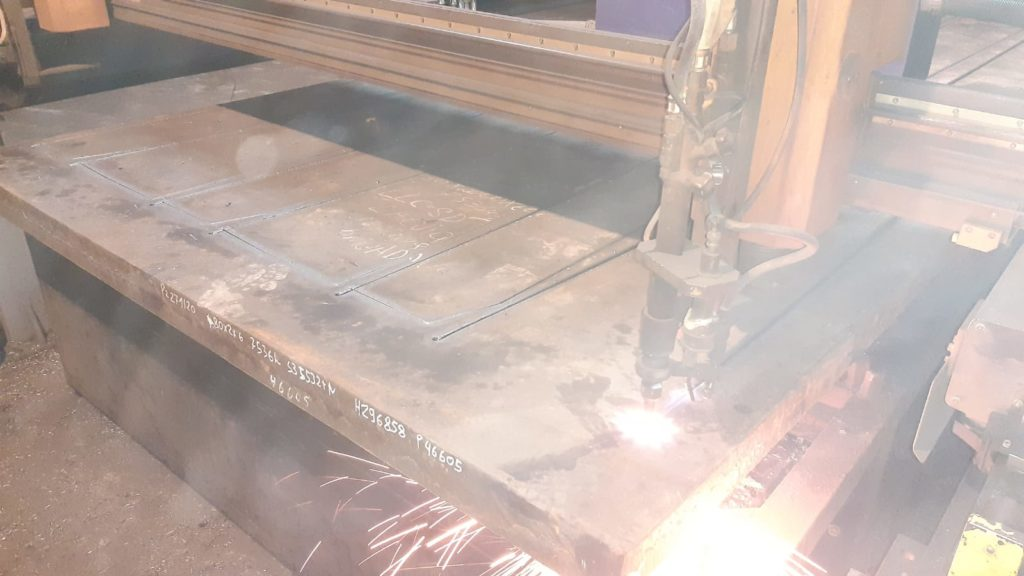 Blacha S355 plazma wypalanie